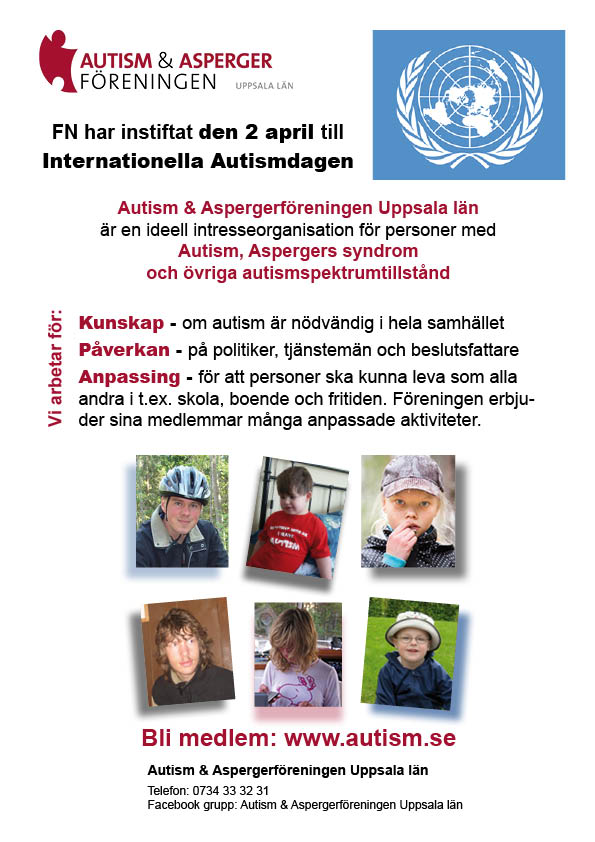Internationella autismdagen 2020
